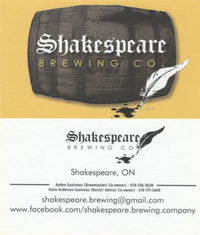 Shakespeare Brewing Co.